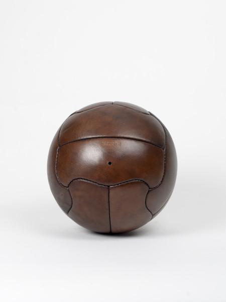 ballon de football vintage en cuir duplo t brésil 1950