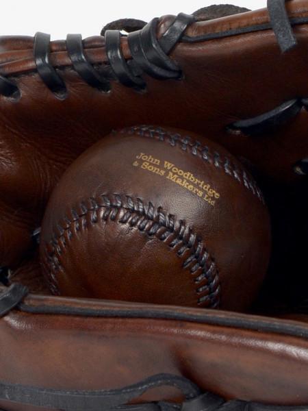 leather vintage baseball