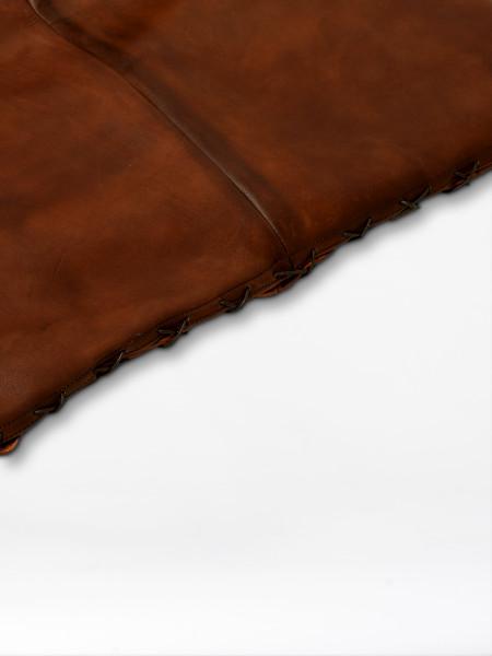 leather gym mattress vintage