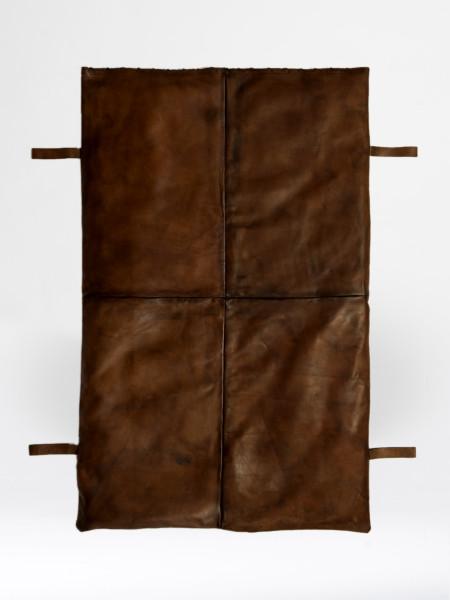 matelas de gym en cuir grande taille
