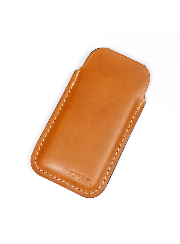 bb910876c6a LEATHER SMARTPHONE HOLSTER - John Woodbridge Makers