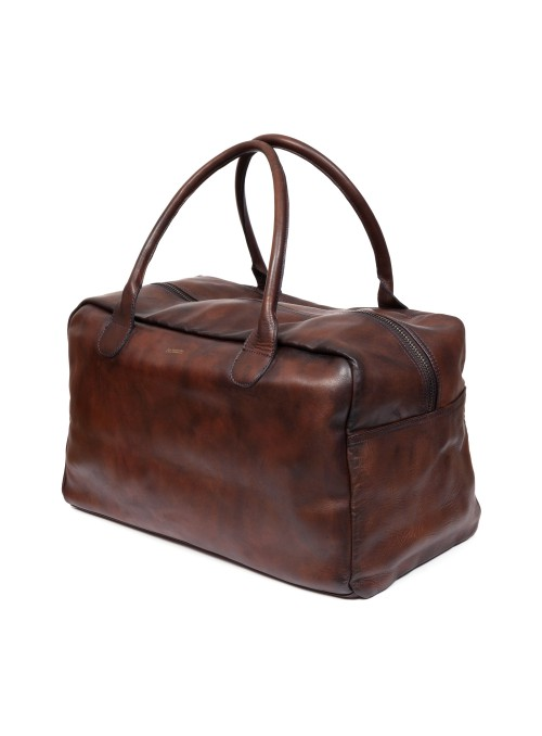 leather sports bag weekend bag