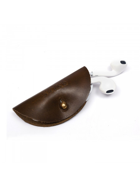LEATHER HEADPHONES HOLSTER