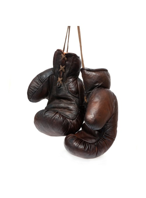 1920s VINTAGE LEATHER BOXING GLOVES