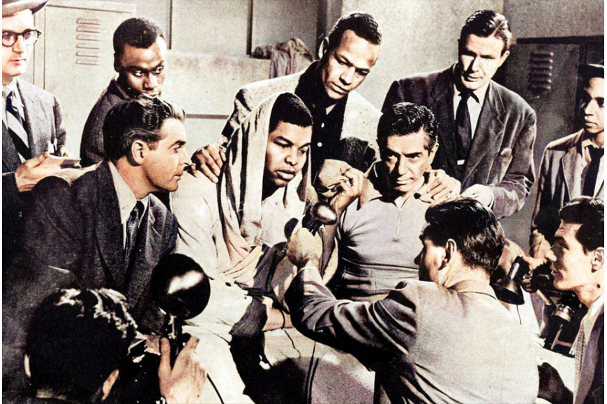 Boxing and cinema : The Joe Louis Story (1953)
