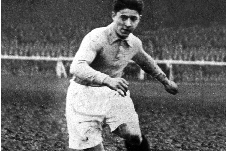 Lucien Laurent, first scorer of the World Cup