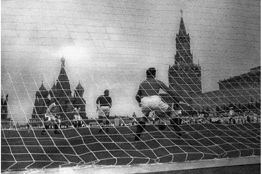 Football on Red Square
