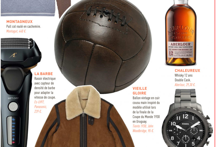 John Woodbridge in L'Équipe Christmas gifts selection