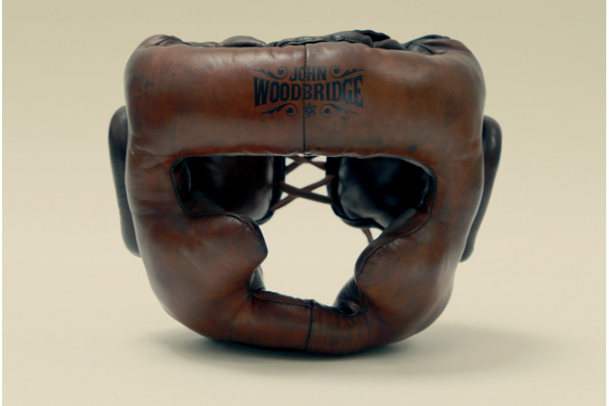 Boxe old school : le casque de sparring par John Woodbridge