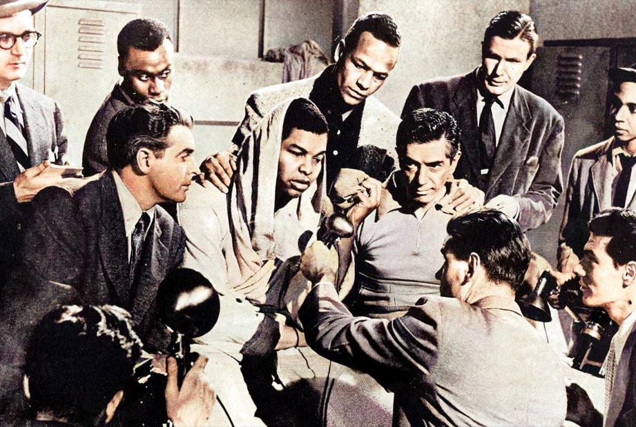 Boxing and cinema : The Joe Louis Story (1953)