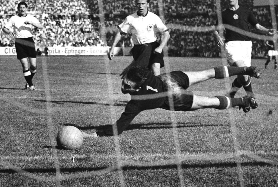 The Swiss World Champion of 1954 World Cup