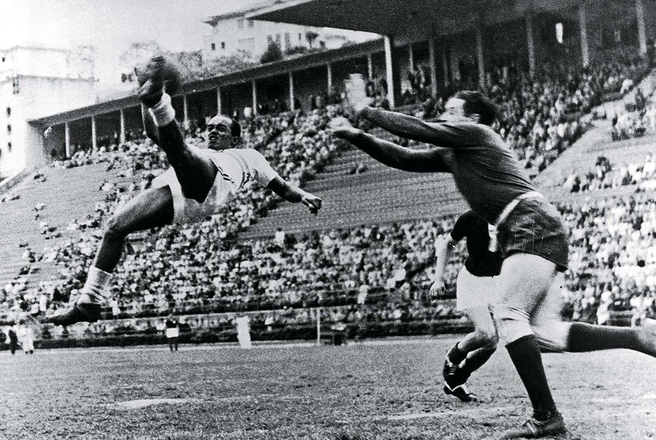 Leônidas, star of the 1938 World Cup