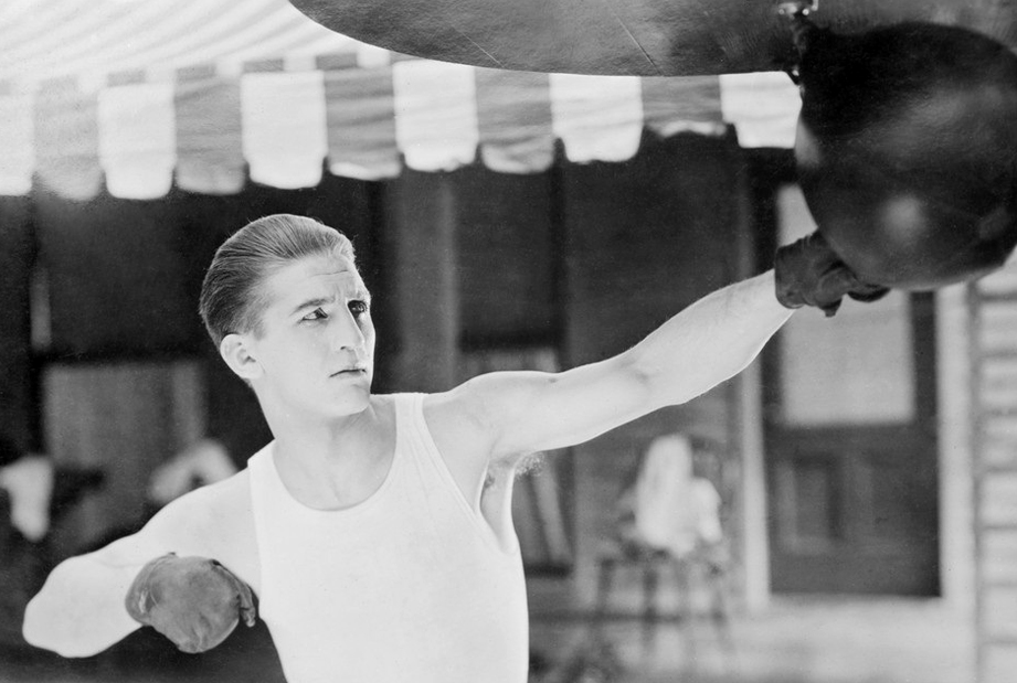 The year Georges Carpentier conquered America
