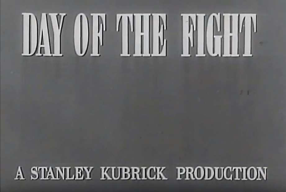 Boxing and cinema : Day of the Fight and Killer's Kiss by Kubrick