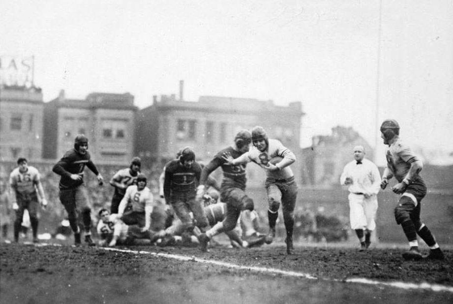 The origins of the Super Bowl