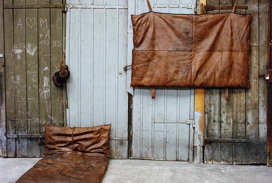New at John Woodbridge: the old school gym mattress