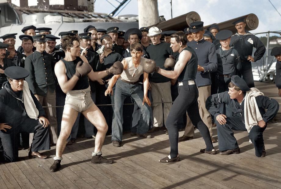 Sports in John Woodbridge's time: 10 rounds on USS New York