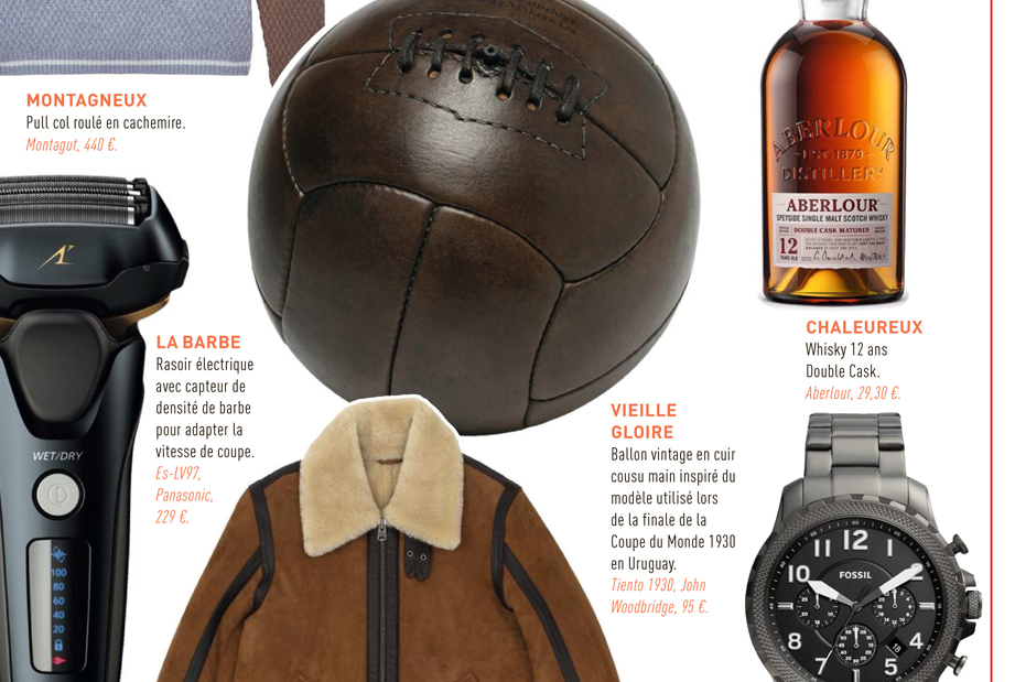 John Woodbridge in L'Équipe Christmas gifts selection