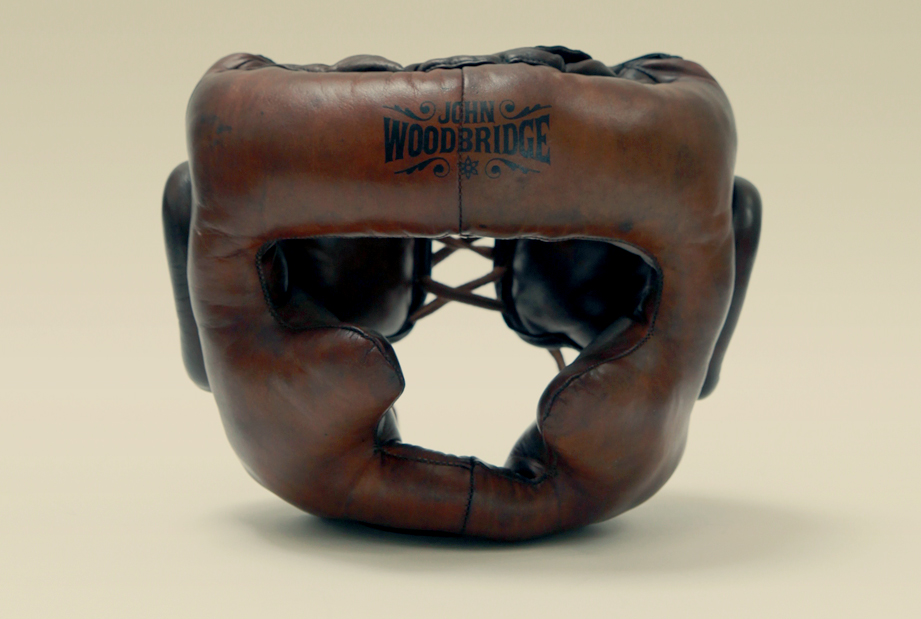 Old school boxing: The sparring helmet by John Woodbridge