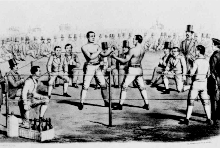 Heenan-Sayers, illegal fight at the beginnings of the world boxing championship
